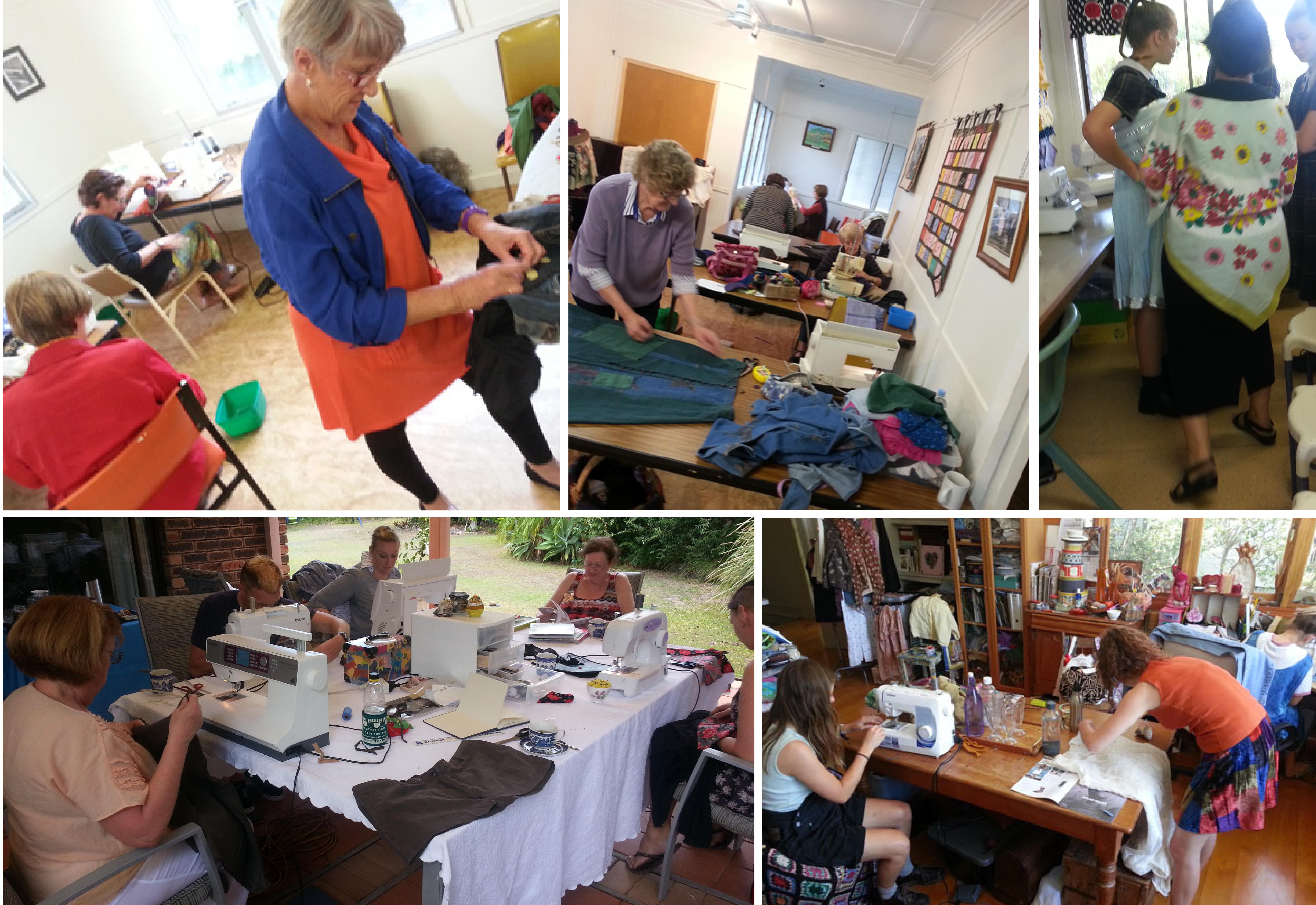 Textile Beat refashion workshops