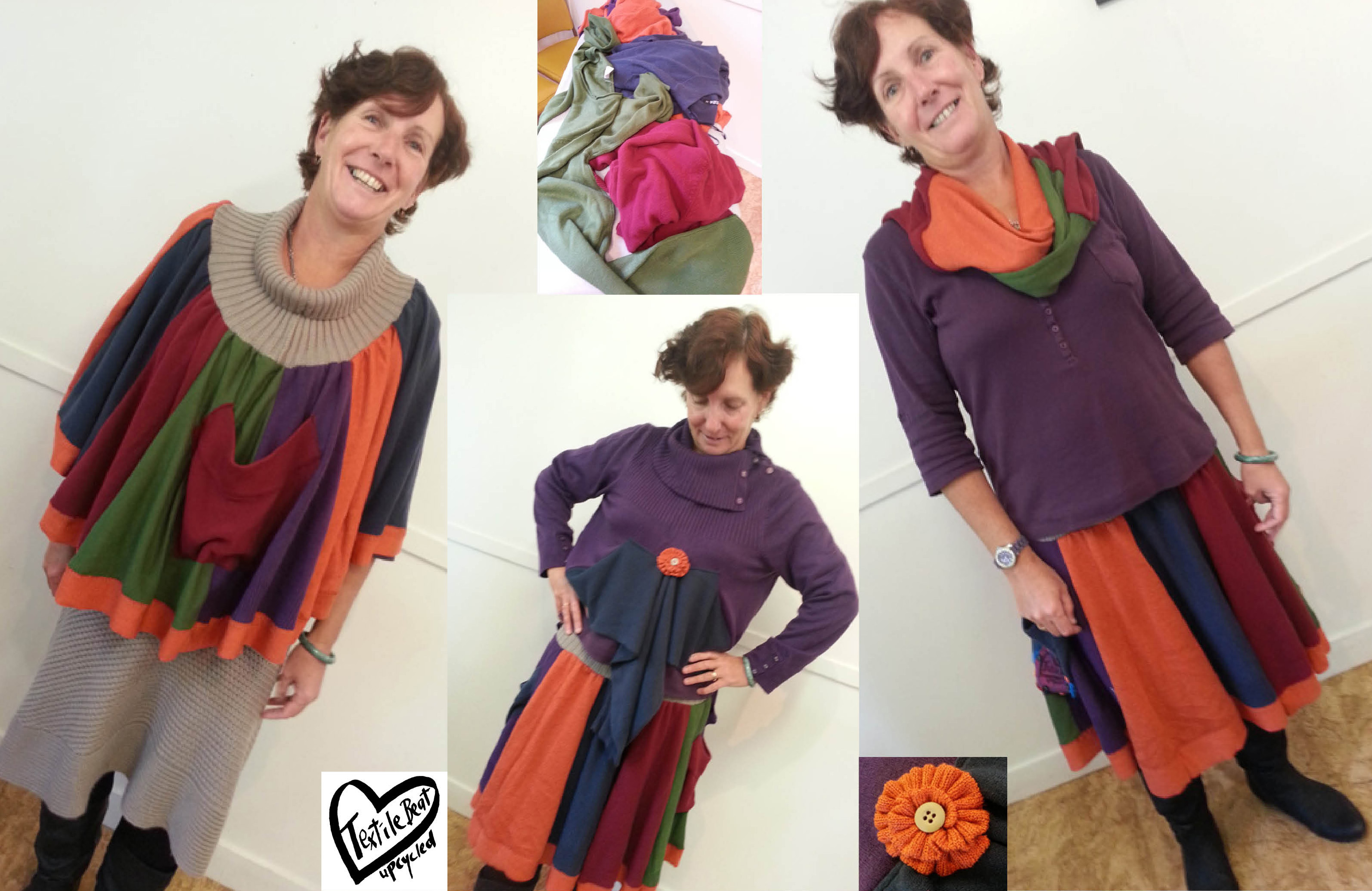 Kerrie upcycles with Textile Beat web