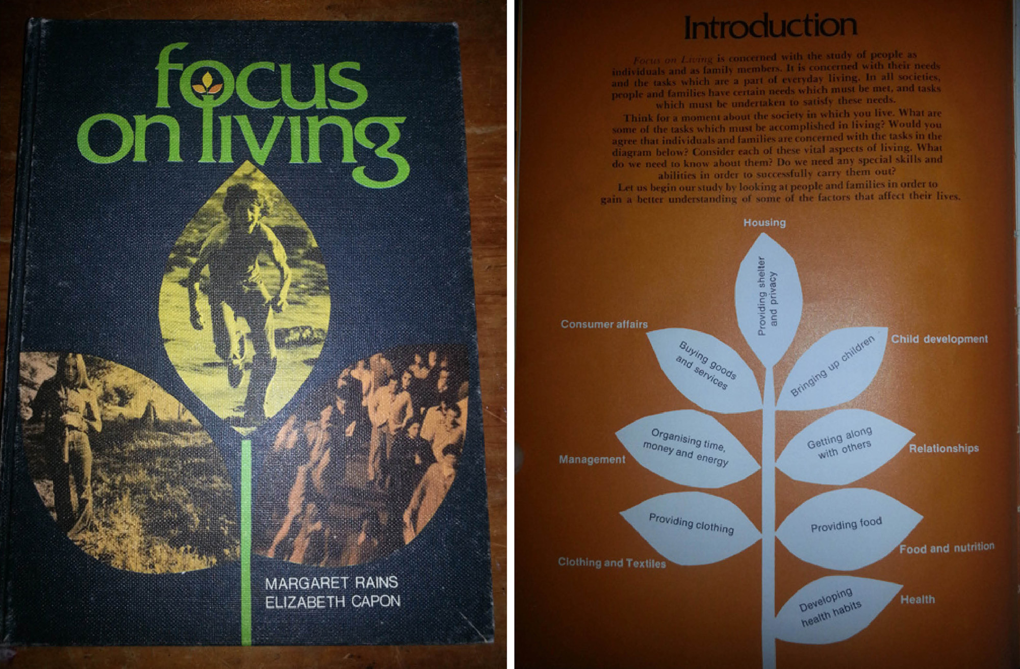 Focus on Living textbook