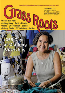Grassroots magazine cover JuneJuly 2015