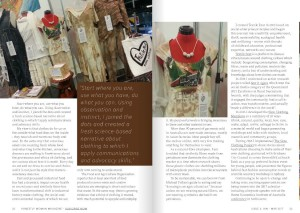 Honestly Woman magazine feature p2