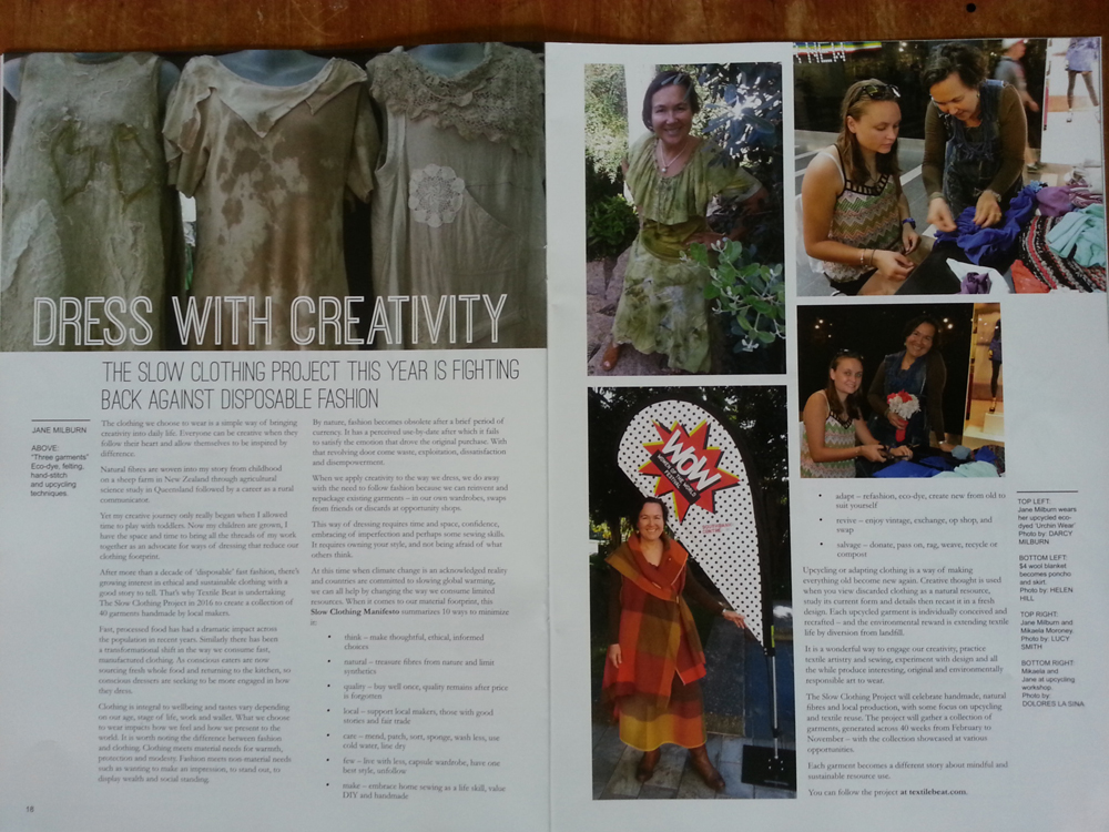 dress with creativity story web