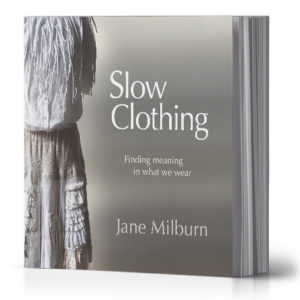 Slow Clothing by Jane Milburn (book)